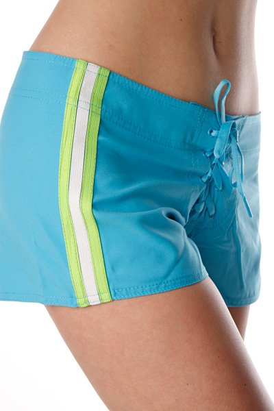 Шорты пляжные женские Roxy Surf Essential Mid Bs Neon Blue от BOARDRIDERS