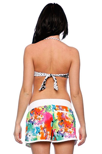 Бюстгальтер женский Roxy Stoked Twist Bandeau White/Black от BOARDRIDERS