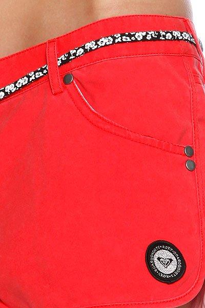 Шорты пляжные женские Roxy Choka Washed Red от BOARDRIDERS