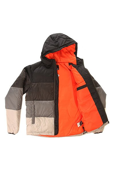 Куртка пуховик Quiksilver Sharan Bloc Men Black от BOARDRIDERS