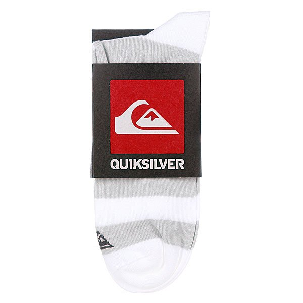 Носки низкие Quiksilver Re Entry Low Socks X6 White от BOARDRIDERS