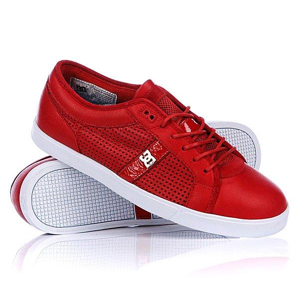 Кеды кроссовки низкие DC Dress Sneaker Shoe Red