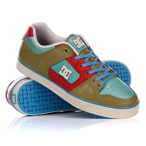 ���� ��������� ������ DC Pure Slim Lx Shoe Cafir/Red