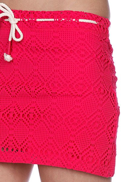 Юбка женская Roxy Crochet Skirt Bright Pink от BOARDRIDERS