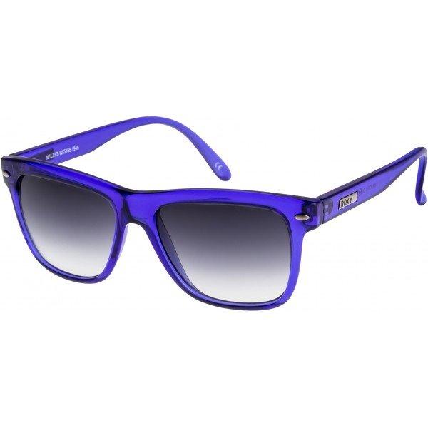 Очки женские Roxy Miller Violet/GrygСолнцезащитные очки<br>Винтажный стиль в современной интерпретации в солнцезащитных очках Miller из коллекции Roxy.Технические характеристики: Оправа из пропионата.100% защита от ультрафиолетовых лучей.Оптически правильные линзы из поликарбоната с покрытием против царапин.Линзы разработаны и тестированы Carl Zeiss Vision.Изготовлены в Италии.<br><br>Размер EU: One Size<br>Цвет: синий<br>Тип: Очки<br>Возраст: Взрослый<br>Пол: Женский