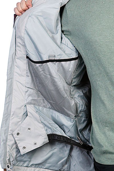 Куртка Quiksilver Raft 10K Aop Deep Wood Jkt Deep Wood от BOARDRIDERS