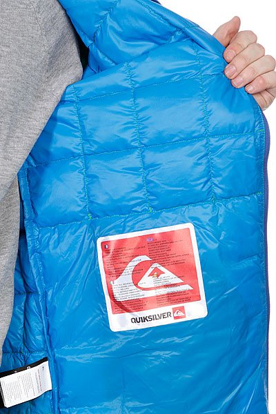 Куртка Quiksilver Collapse Down Hoodie Grasshopper от BOARDRIDERS