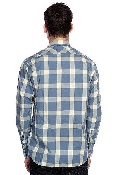 Рубашка в клетку Quiksilver Ramos Airforce от BOARDRIDERS