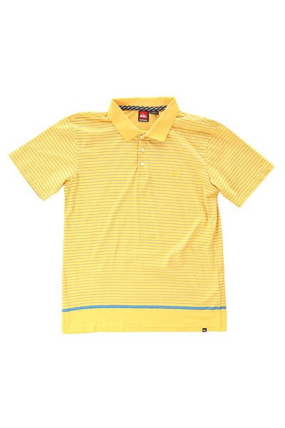 Поло Quiksilver Stripe Polo Msp Sunset GoldФутболки и Майки<br><br><br>Размер EU: L<br>Цвет: желтый<br>Тип: Поло<br>Возраст: Взрослый<br>Пол: Мужской
