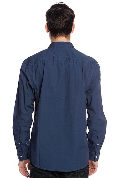 Рубашка Quiksilver Elliot Ls Washed Navy от BOARDRIDERS
