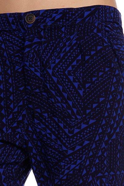 Штаны прямые женские Roxy Wax Flower Ocean 100 Crazy от BOARDRIDERS
