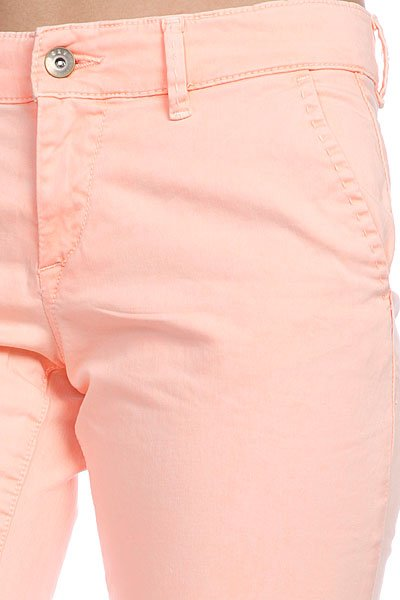 Штаны прямые женские Roxy Sunkissers Colors Peach Orange от BOARDRIDERS