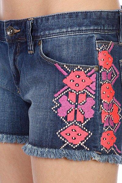 Шорты джинсовые женские Roxy Lovin Emby Dark Used от BOARDRIDERS