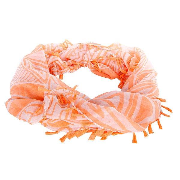 Шарф женский Roxy Sunset Surf B MultiШарфы<br>Легкий женский шарф из коллекции аксессуаров Roxy.Технические характеристики: Тонкий полиэстер.Квадратная форма.Декоративная бахрома.Вышитый логотип Roxy.<br><br>Размер EU: One Size<br>Цвет: оранжевый<br>Тип: Шарф<br>Возраст: Взрослый<br>Пол: Женский