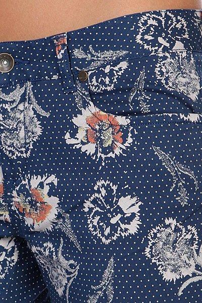 Штаны женские Roxy Skinny Crop Printed Indigo Blue от BOARDRIDERS