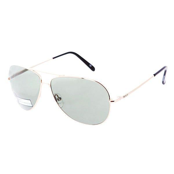 Очки женские Roxy Raf1 Gold/GreenСолнцезащитные очки<br><br><br>Размер EU: One Size<br>Цвет: черный<br>Тип: Очки<br>Возраст: Взрослый<br>Пол: Женский