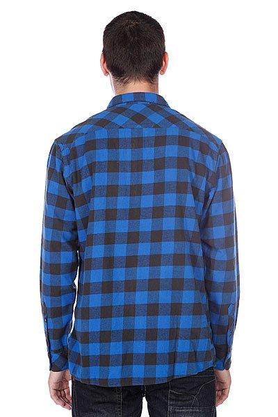 Рубашка в клетку Quiksilver Gulls Olympian Blue от BOARDRIDERS