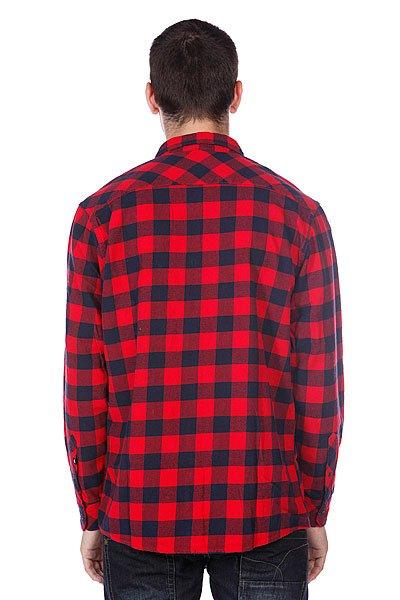 Рубашка в клетку Quiksilver Gulls Quik Red от BOARDRIDERS