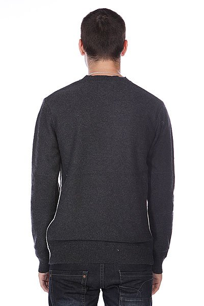 Свитер Quiksilver The Knit Crew Black Heather от BOARDRIDERS