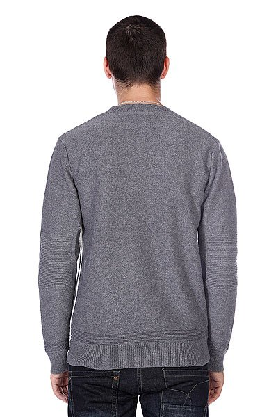 Свитер Quiksilver The Knit Crew Med Grey Heather от BOARDRIDERS