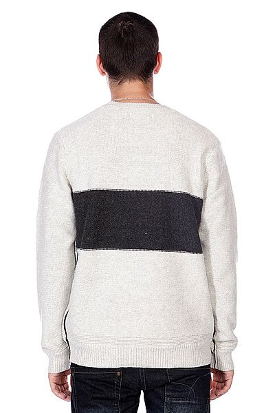 Свитер Quiksilver The Block Knit Ecru Heather от BOARDRIDERS