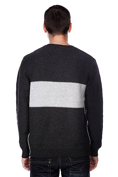 Свитер Quiksilver The Block Knit Black Heather от BOARDRIDERS