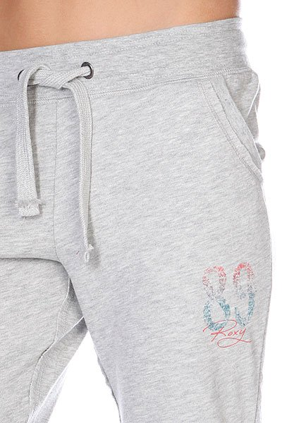 Штаны женские Roxy Rolled Up Pant Heather Grey от BOARDRIDERS