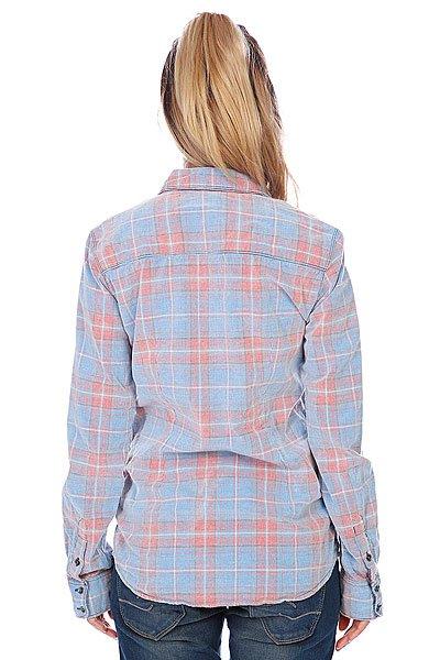 Рубашка в клетку женская Roxy Sky High Hibiscus от BOARDRIDERS
