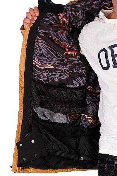 Куртка Quiksilver Travis Rice Polar Pillow Jacket 15 Sudan Brown от BOARDRIDERS