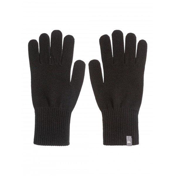 Перчатки Quiksilver Octo BlackПерчатки и Варежки<br>Прочные и долговечные, городские перчатки из современной высокоэластичной ткани с «дышащим» эффектом. Характеристики:Лэйбл с лого на манжете. Эластичные манжеты.<br><br>Размер EU: One Size<br>Цвет: черный<br>Тип: Перчатки<br>Возраст: Взрослый<br>Пол: Мужской