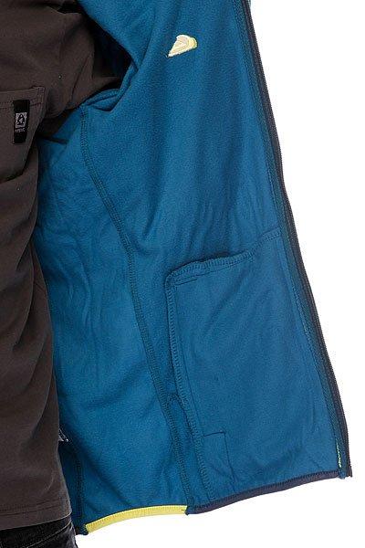Толстовка сноубордическая Quiksilver Circle Hoodie Moroccan Blue от BOARDRIDERS