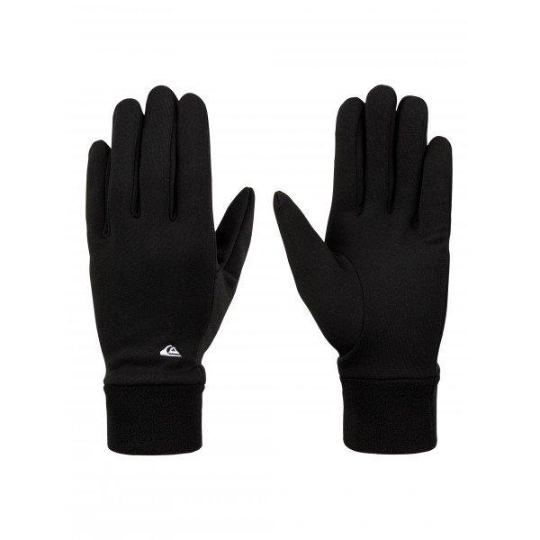 Перчатки Quiksilver Ottawa BlackПерчатки и Варежки<br>Облегченные перчатки Quiksilver Ottawa.Характеристики:Легкая ткань. Ладонь с цепким рельефом. Вышитый логотип.<br><br>Размер EU: M<br>Цвет: черный<br>Тип: Перчатки<br>Возраст: Взрослый<br>Пол: Мужской