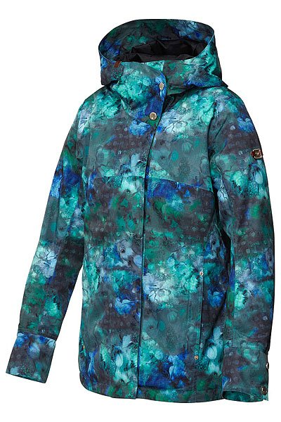 Куртка женская Roxy Torah Bright Individual Jacket Ocean Depths