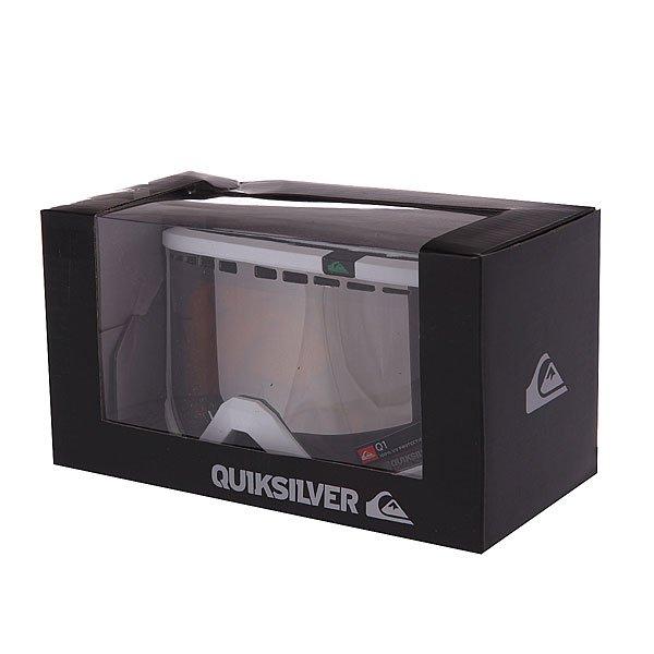Маска для сноуборда Quiksilver Q1 Bright White от BOARDRIDERS