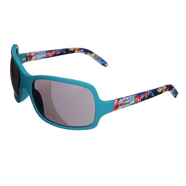 Очки женские Roxy Tee Dee Gee J Turquoise/FlowerСолнцезащитные очки<br>Элегантная, изящная модель на грани классики и экстравагантности.Технические характеристики: Материал Propionate.Прочные линзы из поликарбоната.Покрытие против царапин.100% защита от ультрафиолетовых лучей.Линзы от Carl Zeiss Vision.<br><br>Размер EU: One Size<br>Цвет: зеленый,мультиколор<br>Тип: Очки<br>Возраст: Взрослый<br>Пол: Женский