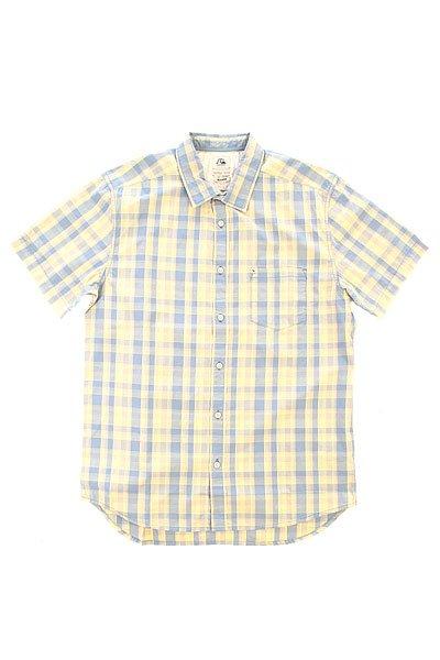 Рубашка в клетку Quiksilver Helsby Wvtp Bjn2 Faded DenimРубашки<br><br><br>Размер EU: M<br>Цвет: синий,желтый<br>Тип: Рубашка в клетку<br>Возраст: Взрослый<br>Пол: Мужской