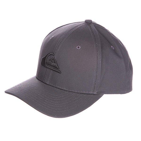 Бейсболка Quiksilver Decades Hats TarmacБейсболки<br><br><br>Размер EU: One Size<br>Цвет: серый<br>Тип: Бейсболка классическая<br>Возраст: Взрослый<br>Пол: Мужской
