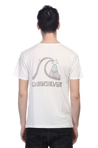Футболка Quiksilver Garment Dyed E5 Tees Snow White от BOARDRIDERS