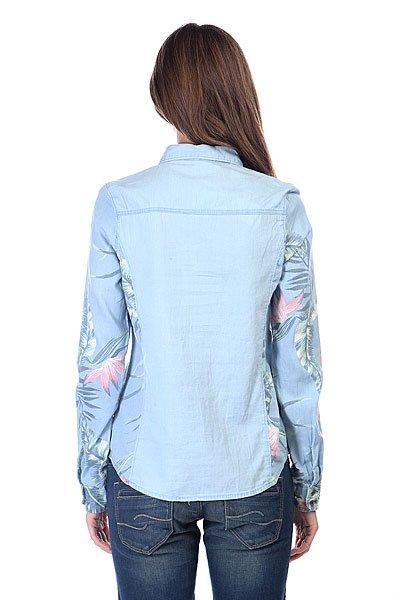 Рубашка женская Roxy Tropic Classic J Wvtp Chambray Heritage Ha от BOARDRIDERS