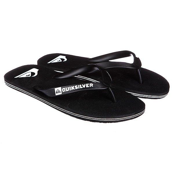 Шлепанцы Quiksilver Molokai Black/White