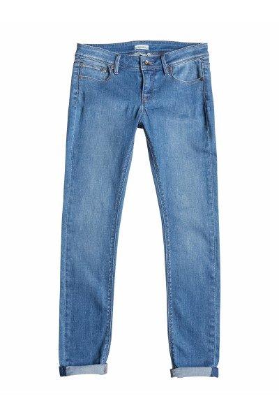 Джинсы прямые женские Roxy Suntrippers Vw J Vintage Med Blue