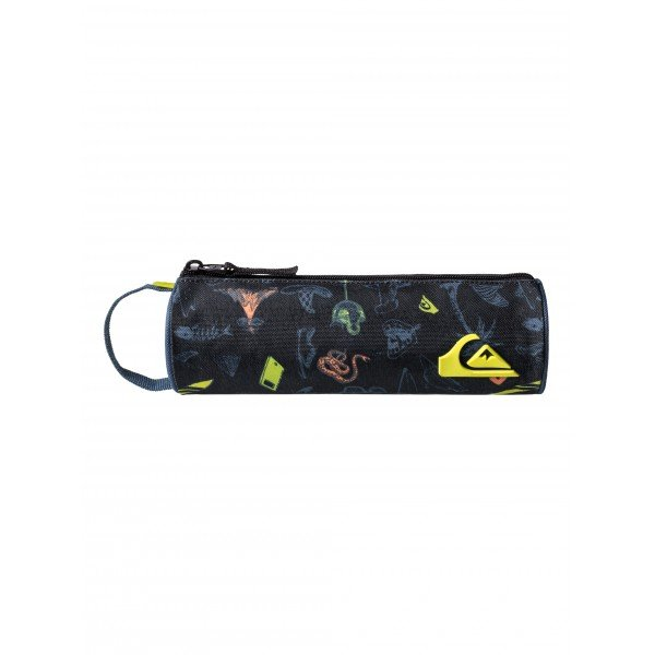 ����� Quiksilver Pencil Print Backool Black
