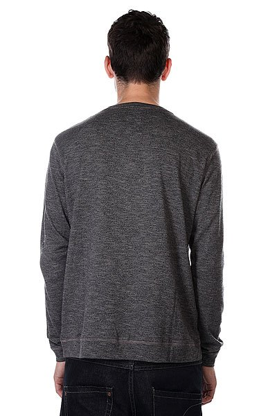 Лонгслив Quiksilver Lindow Crew Dark Charcoal Heather от BOARDRIDERS