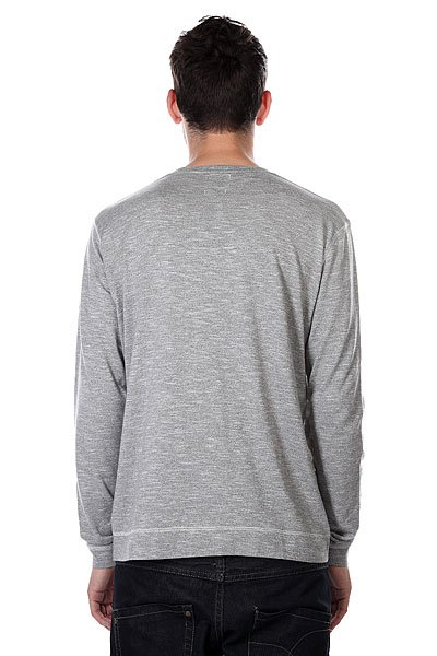 Лонгслив Quiksilver Lindow Crew Grey Heather от BOARDRIDERS