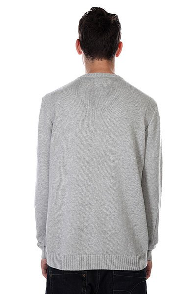 Свитер Quiksilver Bowled Out Light Grey Heather от BOARDRIDERS