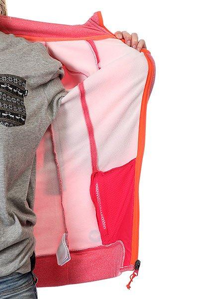 Толстовка сноубордическая женская Roxy Iced Out Jacket Azalea Heather от BOARDRIDERS