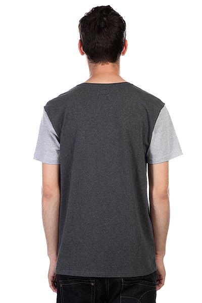 Футболка Quiksilver Bay Sic Dark Charcoal Heather от BOARDRIDERS