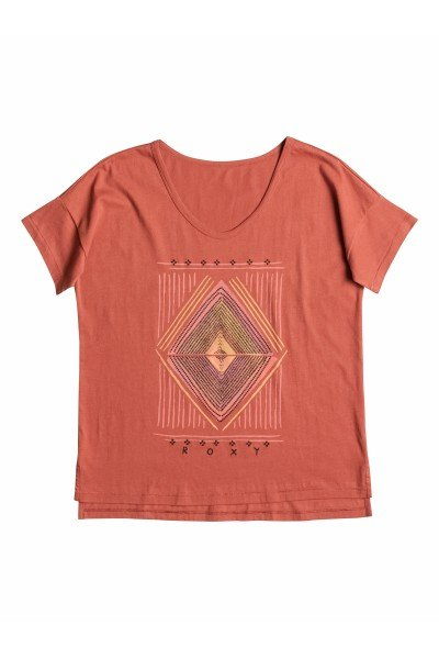 Футболка Roxy Looseteea J Tees PicanteФутболки и Майки<br>По-настоящему свободная и легкая футболка &amp;ndash; порадует свою владелицу!  Модель выполнена из мягкого материала с эффектной текстурой. Короткие рукава, округлый вырез горловины &amp;ndash; идеально дополняют.<br><br>Размер EU: S<br>Размер EU: XS<br>Цвет: коричневый<br>Тип: Футболка<br>Возраст: Взрослый<br>Пол: Женский