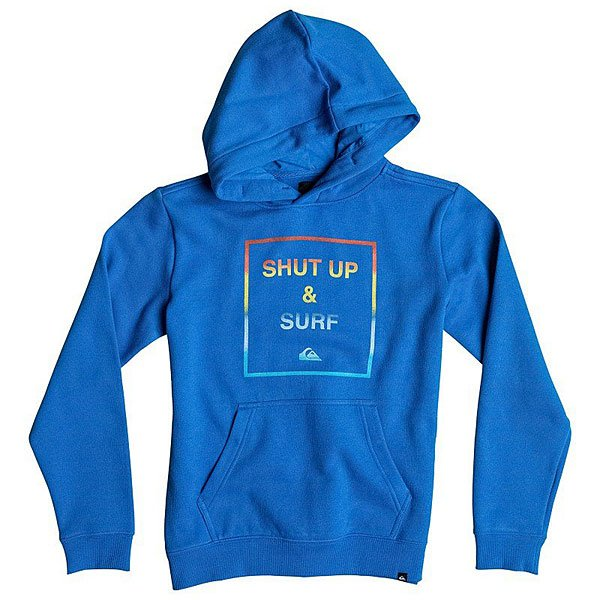 ������� ������� Quiksilver Hood Shut Up Youth Victoria Blue