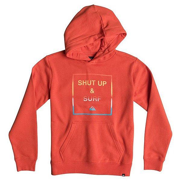 Кенгуру детское Quiksilver Hood Shut Up Youth PoincianaОдежда<br><br><br>Размер EU: 12yrs<br>Размер EU: 8yrs<br>Размер EU: 10yrs<br>Цвет: оранжевый<br>Тип: Толстовка кенгуру<br>Возраст: Детский